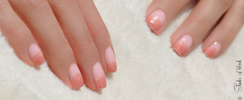 Keep Calm And Try Again Missgluckte Ombre Nails In Rosa Shades